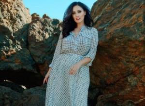 Соломія Вітвіцька в сукні Petro Soroka