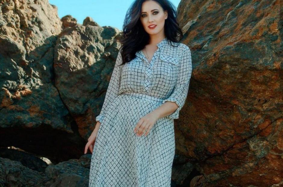 Соломія Вітвіцька в сукні Petro Soroka >