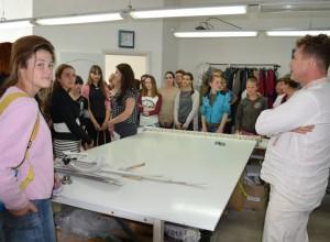 «Модная» экскурсия для швейной молодежи у «Petro Soroka»